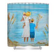 Blissful Day Shower Curtain