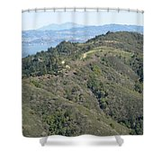Blithedale Ridge On Mount Tamalpais Shower Curtain