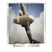 Blitz On The Clouds Shower Curtain