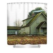 Blnd Blaine House Shower Curtain