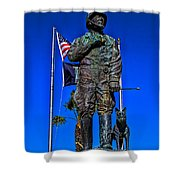 Blood And Guts Shower Curtain