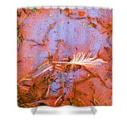 Blood And Sand  Shower Curtain