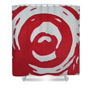 Blood And Tears Shower Curtain