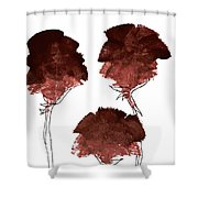 Blood Flower Part2 Shower Curtain