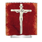 Blood Of Christ Shower Curtain