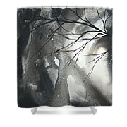 Blood Of The Moon 1 By Madart Shower Curtain