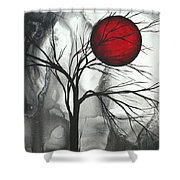 Blood Of The Moon 2 By Madart Shower Curtain