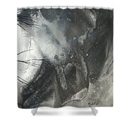 Blood Of The Moon 3 By Madart Shower Curtain