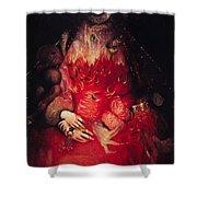 Blood Queen Shower Curtain