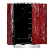 Blood Shot Eyes Shower Curtain
