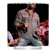 Blood Sweat And Tears Singer Bo Bice Shower Curtain