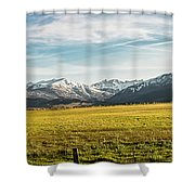 Bloody Mountain Shower Curtain