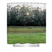 Bloody Pond Shiloh National Military Park Tennessee Shower Curtain
