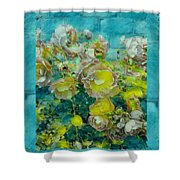 Bloom In Vintage Ornate Style Shower Curtain