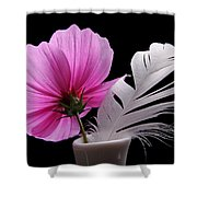 Bloom With Spring Shower Curtain