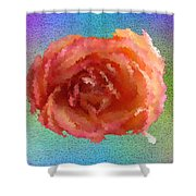 Blooming 4 Shower Curtain