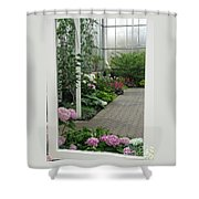 Blooming Conservatory Shower Curtain