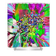 Blooming Delightful Shower Curtain