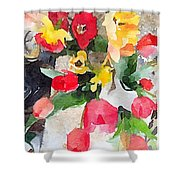 Blooming Fools Shower Curtain