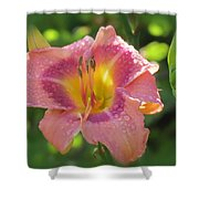 Blooming In Pink Shower Curtain