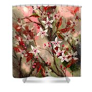 Blooming Magical Gardens Shower Curtain