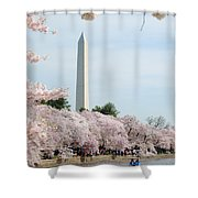 Blooms Of The Tidal Basin Shower Curtain