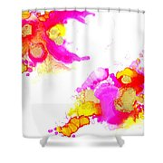 Blooms1 Shower Curtain
