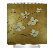 Blossom II Shower Curtain