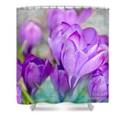 Blossoming Souls Shower Curtain
