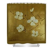 Blossoms I Shower Curtain