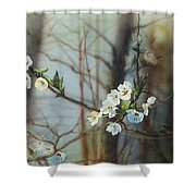 Blossoms In The Wild Shower Curtain