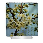 Blossomtime Shower Curtain