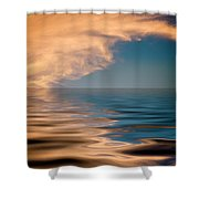 Blow Torch Shower Curtain