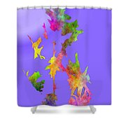 Blowin In The Wind 7 Shower Curtain