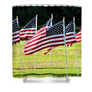 Blowing In The Wind One Shower Curtain