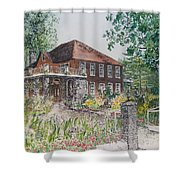 Blowing Rock Inn Shower Curtain
