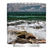 Blowing Rocks Preserve  Shower Curtain