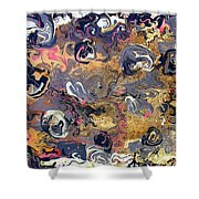 Blowing Winds Shower Curtain
