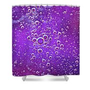 Blown Grape Shower Curtain