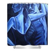 Bludance Shower Curtain