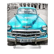 Blue 52 Shower Curtain