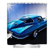 Blue '67  Shower Curtain