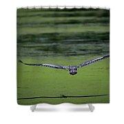 Blue Angel Shower Curtain