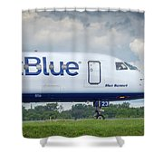 Blue Bonnet Shower Curtain