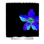 Blue By You Shower Curtain