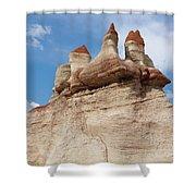 Blue Canyon Minarets Shower Curtain