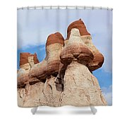 Blue Canyon Wall Shower Curtain