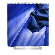 Blue Cloud Shower Curtain