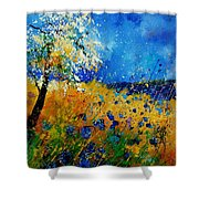 Blue Cornflowers 450108 Shower Curtain