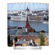 Blue Danube Shower Curtain